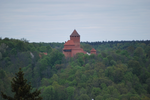 Cesu Castle in Latvia
