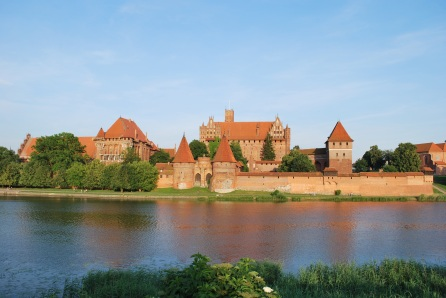 Castle in northern Poland