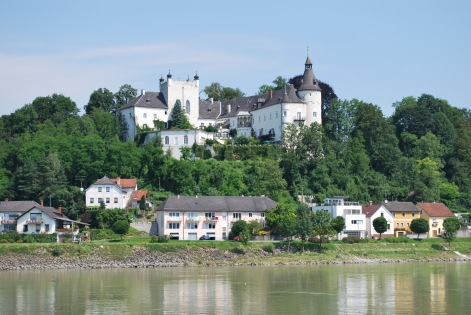Riding along the Danube in Germany